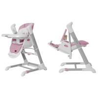 Стільчик гойдалка 3 в 1 CARRELLO Cascata CRL-10303 W Pink