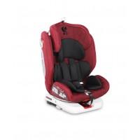 Автокресло Lorelli ROTO Isofix 0+/1/2/3 RED&BLACK (0-36 kg)