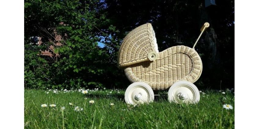 История детских колясок в фотографиях