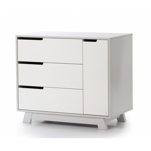 Комод Верес Манхеттен 900 (біло/сірий)