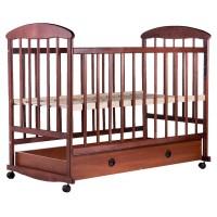 Дитяче ліжко Наталка (вільха темна, ящик)