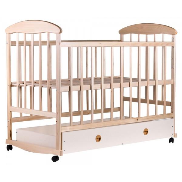 Дитяче ліжко Наталка (вільха світла, ящик)
