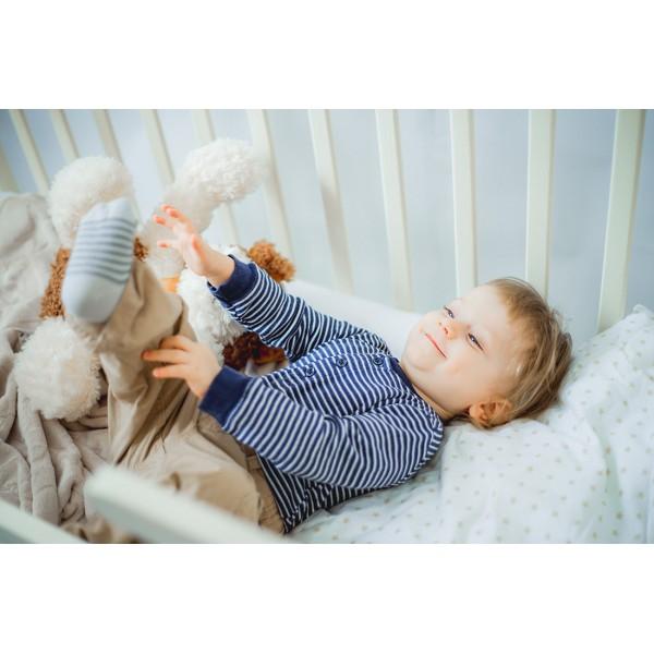 Детская кроватка-трансформер DeSon лодочка (ваниль, шухляда)