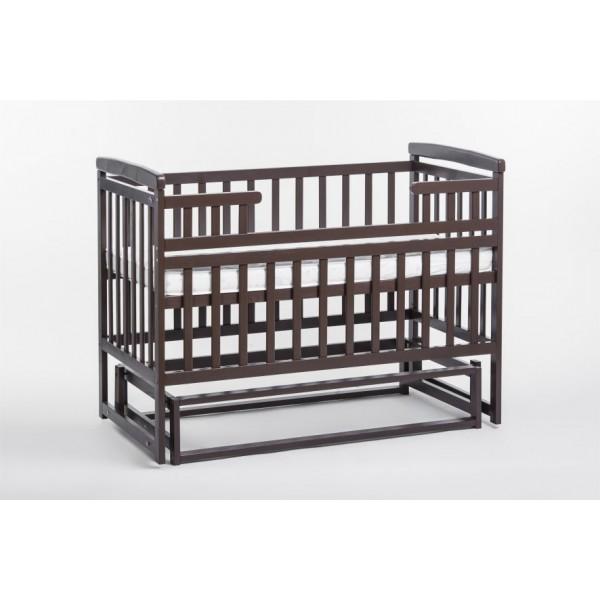 Дитяче ліжко-трансформер DeSon човник (без шухляди, горіх) (Десон)