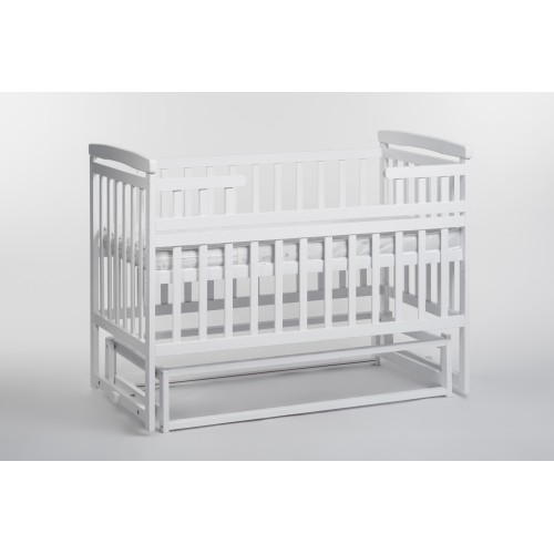 Дитяче ліжко-трансформер DeSon човник (без шухляди, білий) (Десон)