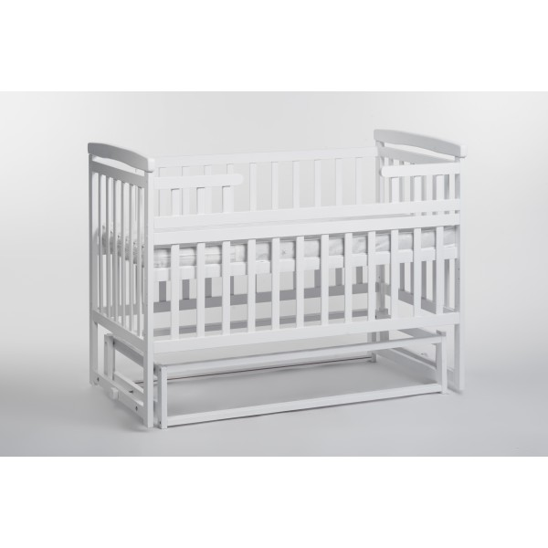 Детская кроватка-трансформер  DeSon лодочка (белый)