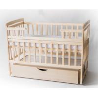 Дитяче ліжко-трансформер DeSon човник (з шухлядою, натуральний) (Десон)