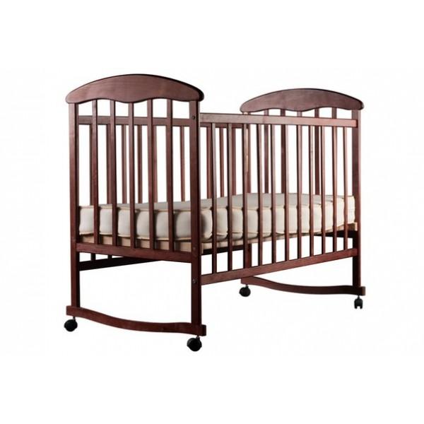 Детская кровать Наталка (ольха темная)