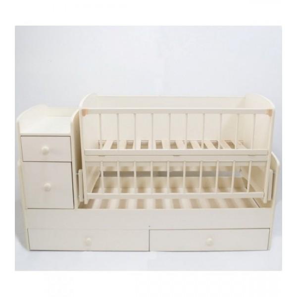 Дитяче ліжко-трансформер (Слонова Кістка)