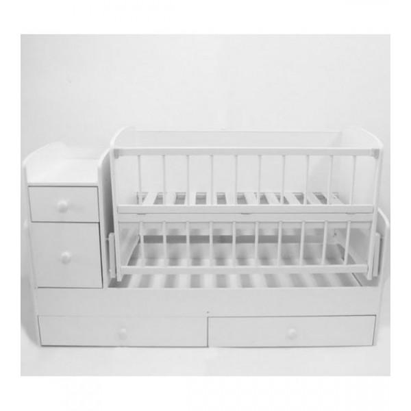 Дитяче ліжко-трансформер (Білий)