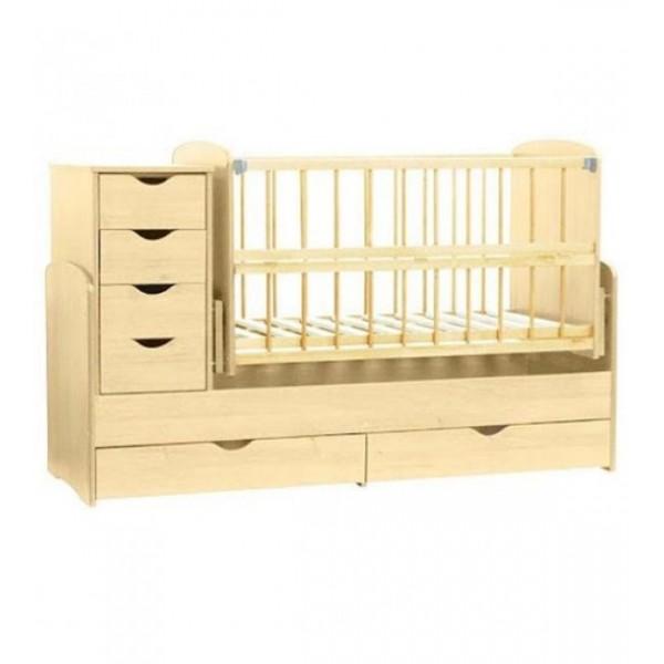 Детская кроватка-трансформер (Натуральная)