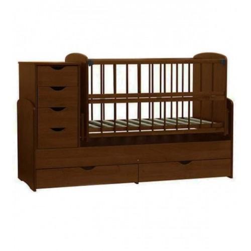 Дитяче ліжко-трансформер (Горіх)