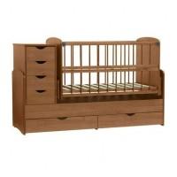 Дитяче ліжко-трансформер (Горіх Лісовий)