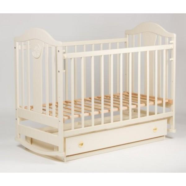 Дитяче ліжко «НАПОЛЕОН NEW» маятник ваніль