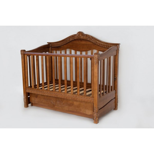 Дитяче ліжко «VIVA Victoria» горіх