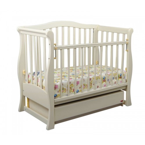 Дитяче ліжко «VIVA» Premium біла