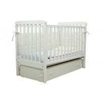 Дитяче ліжко Верес СОНЯ ЛД12 (без коліс, без ящика, біла)