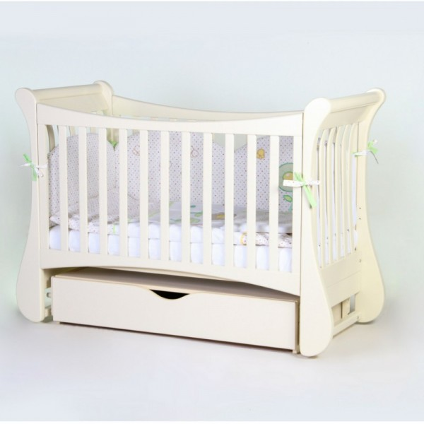 Дитяче ліжко Верес ЛД20 Тюльпан (слонова кістка)