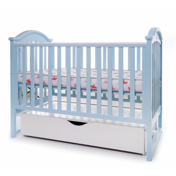 Дитяче ліжко Twins iLove (блакитний) (Твінс Айлав)