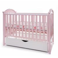 Дитяче ліжко Twins iLove (рожевий) (Твінс Айлав)