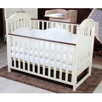 Детская кроватка Twins iLove (слоновая кость/орех)