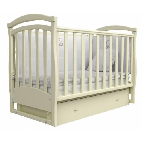 Дитяче ліжко Верес Сонька ЛД6 (слонова кістка)