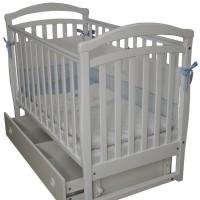 Дитяче ліжко Верес Сонька ЛД6 (без коліс, білий)