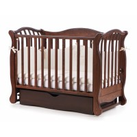 Дитяче ліжко Верес ЛД19 (горіх)