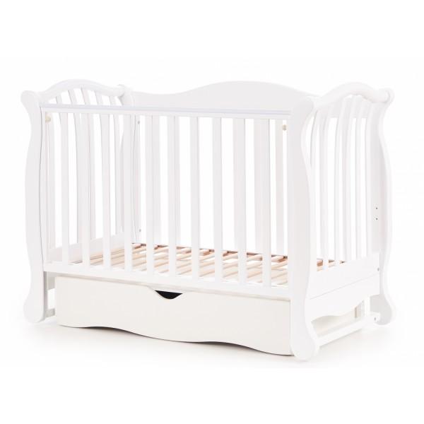Дитяче ліжко Верес ЛД19 (білий)