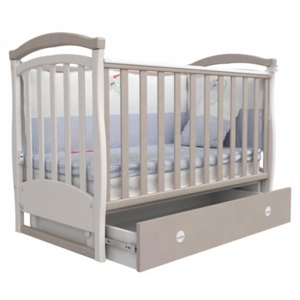 Детская кроватка Верес СОНЬКА  ЛД 6  (капучино)