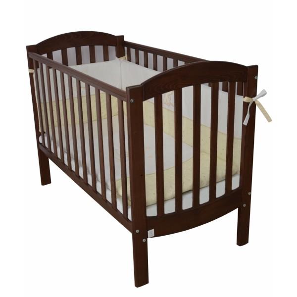 Дитяче ліжко Верес Соня ЛД10 (без коліс, горіх)