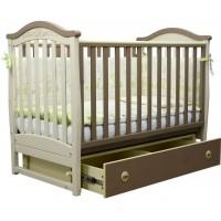 Детская кроватка Верес  ЛД 3  (капучино)