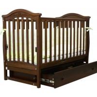 Детская кроватка Верес  ЛД 3  (орех)