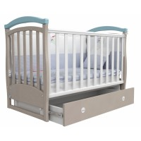 Детская кроватка Верес СОНЬКА  ЛД 6  (голубая)