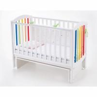 Детская кроватка Верес СОНЯ ЛД 10 (радуга)