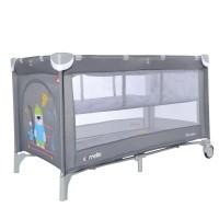 Манеж-ліжко CARRELLO Piccolo+ CRL-9201/1 Ash Grey (з другим дном) (Каррелло Пікколо)