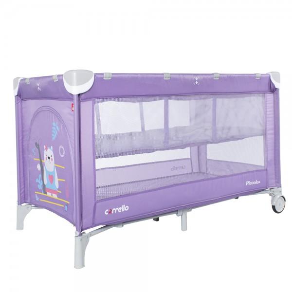 Манеж-ліжко CARRELLO Piccolo+ CRL-9201/1 Orchid Purple (з другим дном) (Каррелло Пікколо)