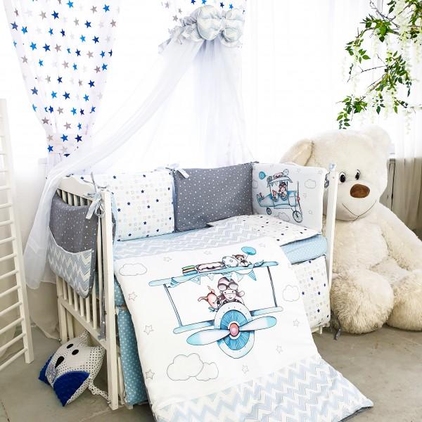 Комплект дитячої постільної білизни Bepino Акварелі 1 (Бепіно)