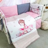 Комплект дитячої постільної білизни Bepino Акварелі 2 (Бепіно)