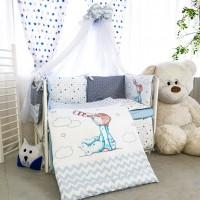 Комплект дитячої постільної білизни Bepino Акварелі 3 (Бепіно)