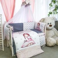 Комплект дитячої постільної білизни Bepino Акварелі 4 (Бепіно)