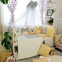 Комплект дитячої постільної білизни Bepino Персонажі (беж) (Бепіно)