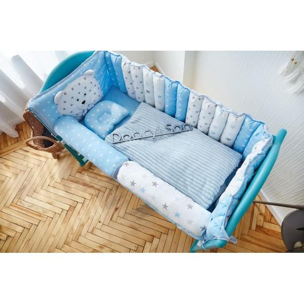 Постільний комплект Добрий Сон Ведмедик (блакитний)