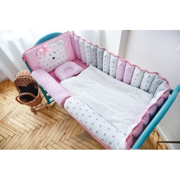 Постільний комплект Добрий Сон Ведмедик (рожевий)