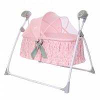 Люлька-гойдалка CARRELLO Dolce CRL-7501 Bow Pink (Каррелло Дольче)