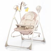 Крісло-гойдалка CARRELLO Nanny 3 в 1 CRL-0005 Beige Dot (Каррелло Нанні)