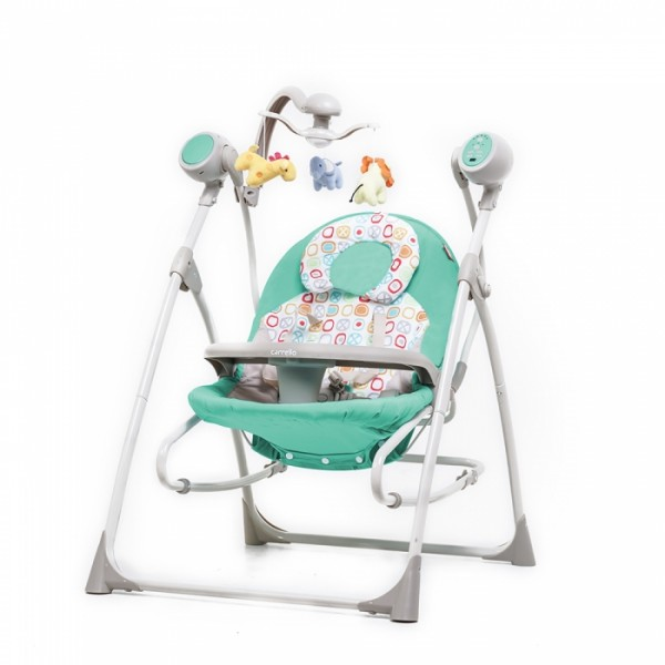 Крісло-гойдалка CARRELLO Nanny 3 в 1 CRL-0005 Azure (Каррелло Нанні)