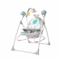 Крісло-гойдалка CARRELLO Nanny 3 в 1 CRL-0005 Azure Beige (Каррелло Нанні)