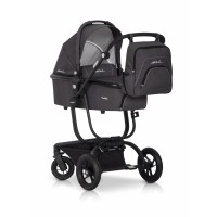 Універсальна коляска 2 в 1 EasyGo Soul Anthracite без сумки (ІзіГоу Соул)