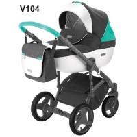 Універсальна коляска 2 в 1 Adamex Massimo Sport V104 (Адамекс Массімо)